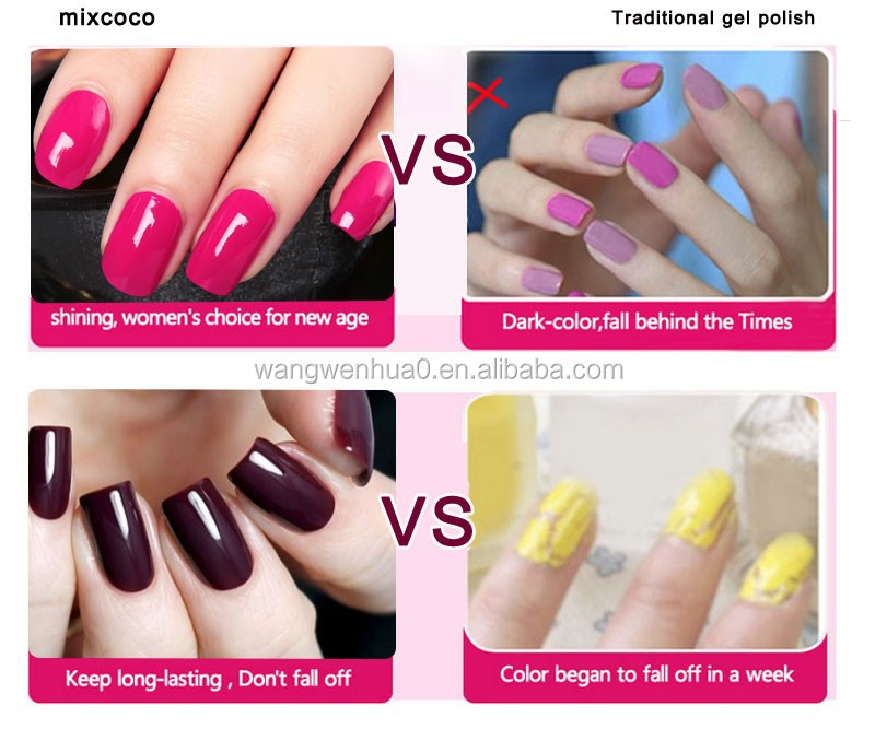 Mixcoco Brand 15ml Soak Off Wholesale Gel Nail Polish From Factory ...