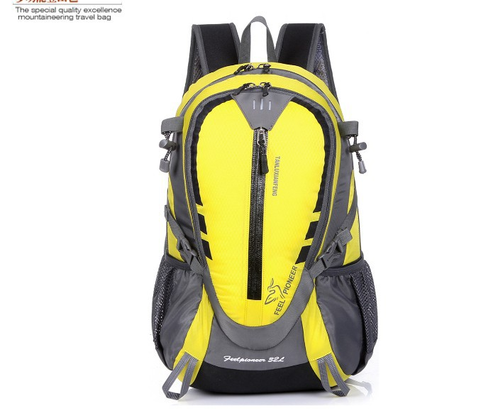 Outdoor waterproof bag men riding hiking mountaineering bag outdoor travel bags backpack Camping bag 35L