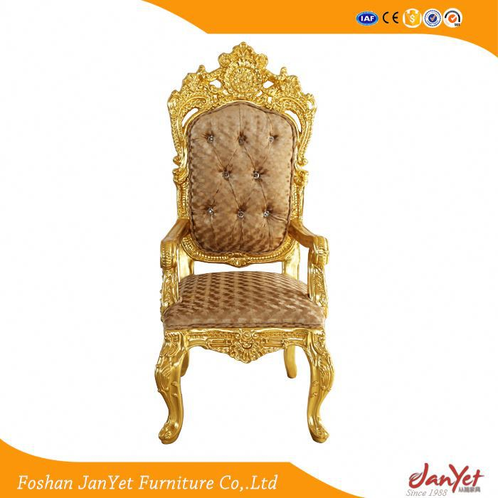 Popular Upholstery Fabrics Antique Throne Bed