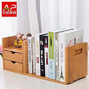 Freestanding Book Shelf / Desk Top Organization, Table little bookshelf Racks,scalable small desk gantry C