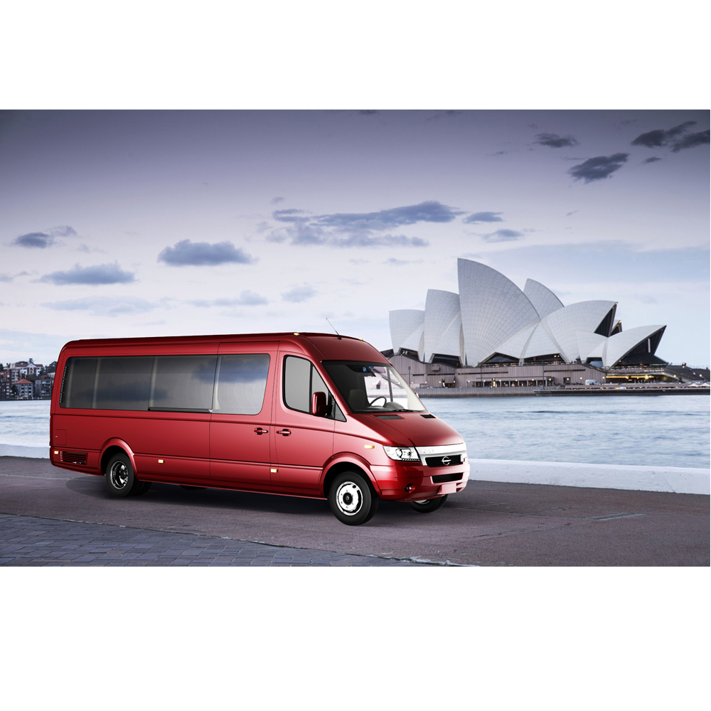 FDG Electric Mini Passenger Van / Business Vehicle Car for Sale, 15 Seats or Any Number