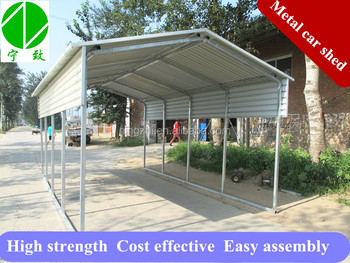 Steel Car Parking Cover Buy Free Standing Car Covers Steel Car