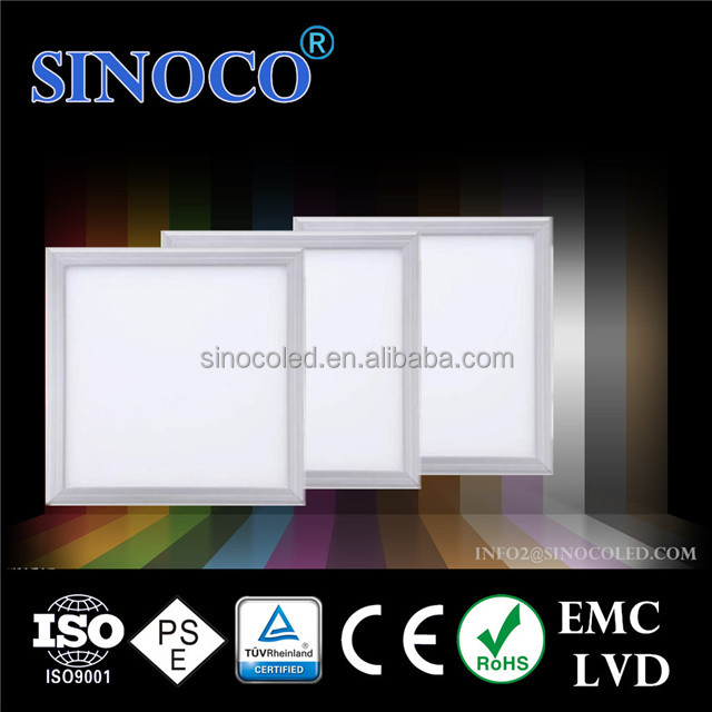 surface mounted led ceiling lamps, 600x600 mm 36w 40w decorative led panel light from shenzhen