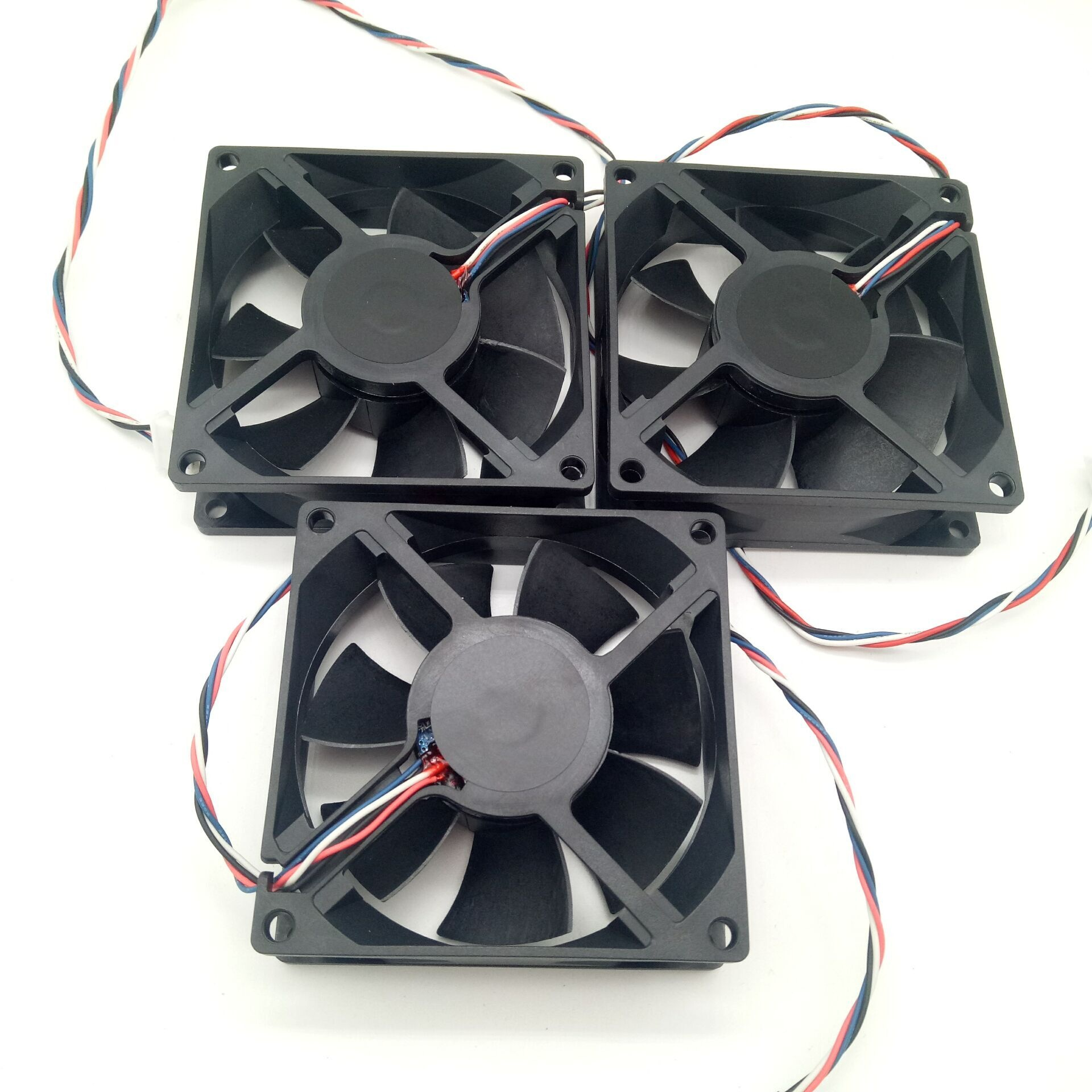 80mm 80x80x25mm 8025 DC brushless cooling fan 8025 80mm 12V 18V 24V 80x80