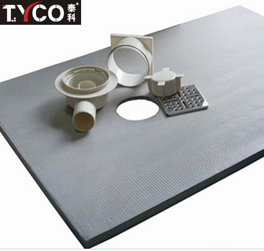 Free Design Tile Surface XPS Made Portable Drying Shower Tray