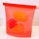 Reusable Silicone Food Storage Ziplock Bags Microwavable Leak-proof Cooking Bag/