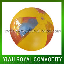 "18"" Custom Transparent Beach Ball With Toy Inside"