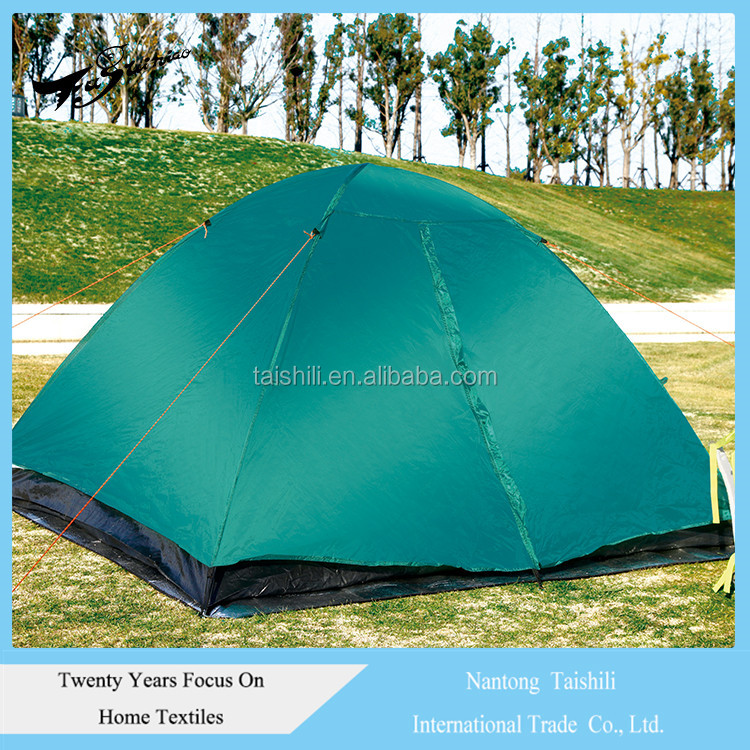 Hot Selling Solid Color Portable Hiking shelter pop up outdoor camping tent