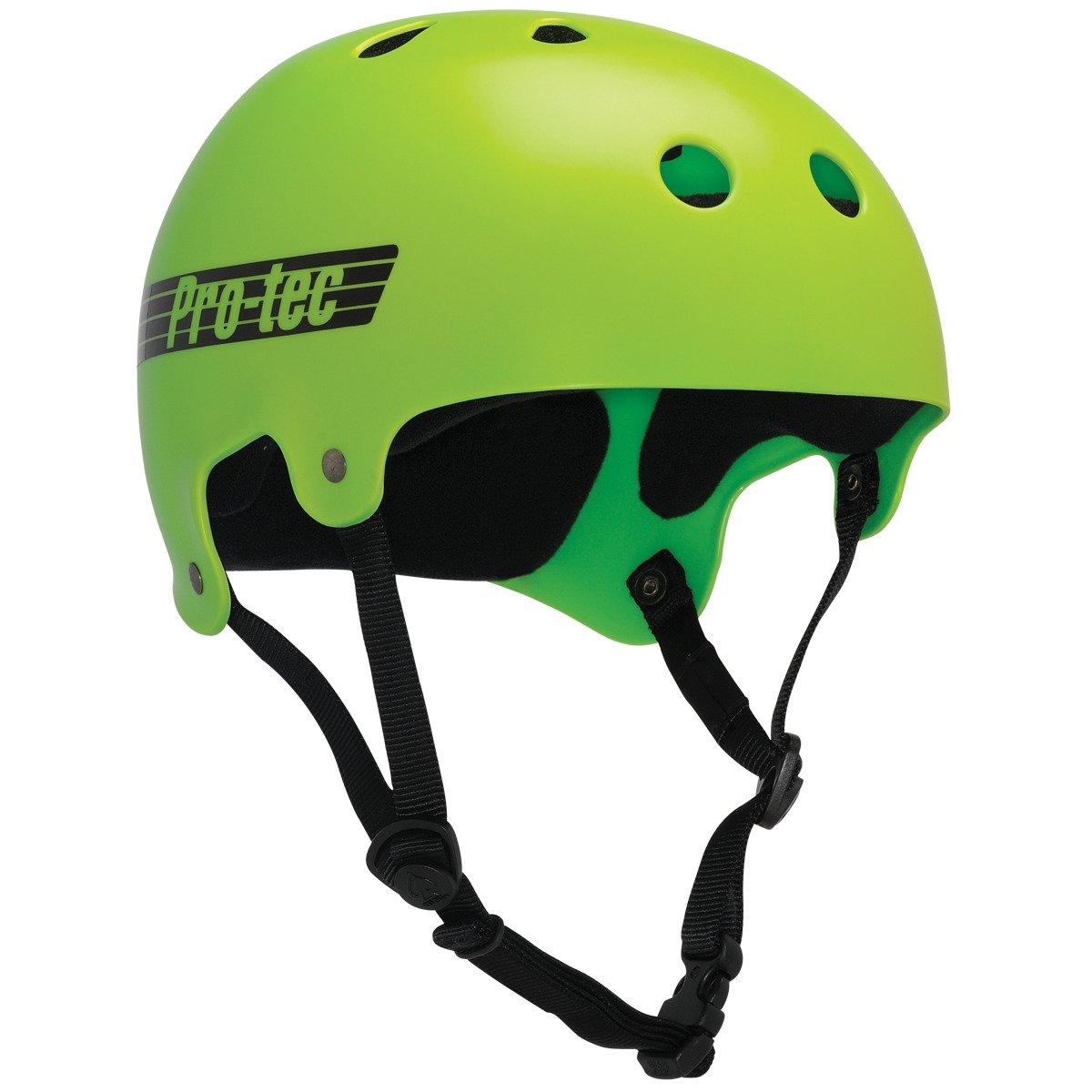 "ProTec Bucky Lasek Classic Bucky Yellow / Green Fade Skate Helmet - X-Large / 23.6"" - 24.4"""