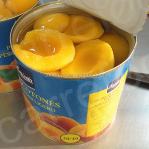 Peach 425g/820g Yellow Peach halves/canned peach in light syrup