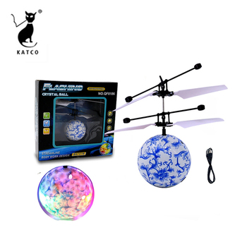 Infrared toys mini flying ball rc flying ufo ball