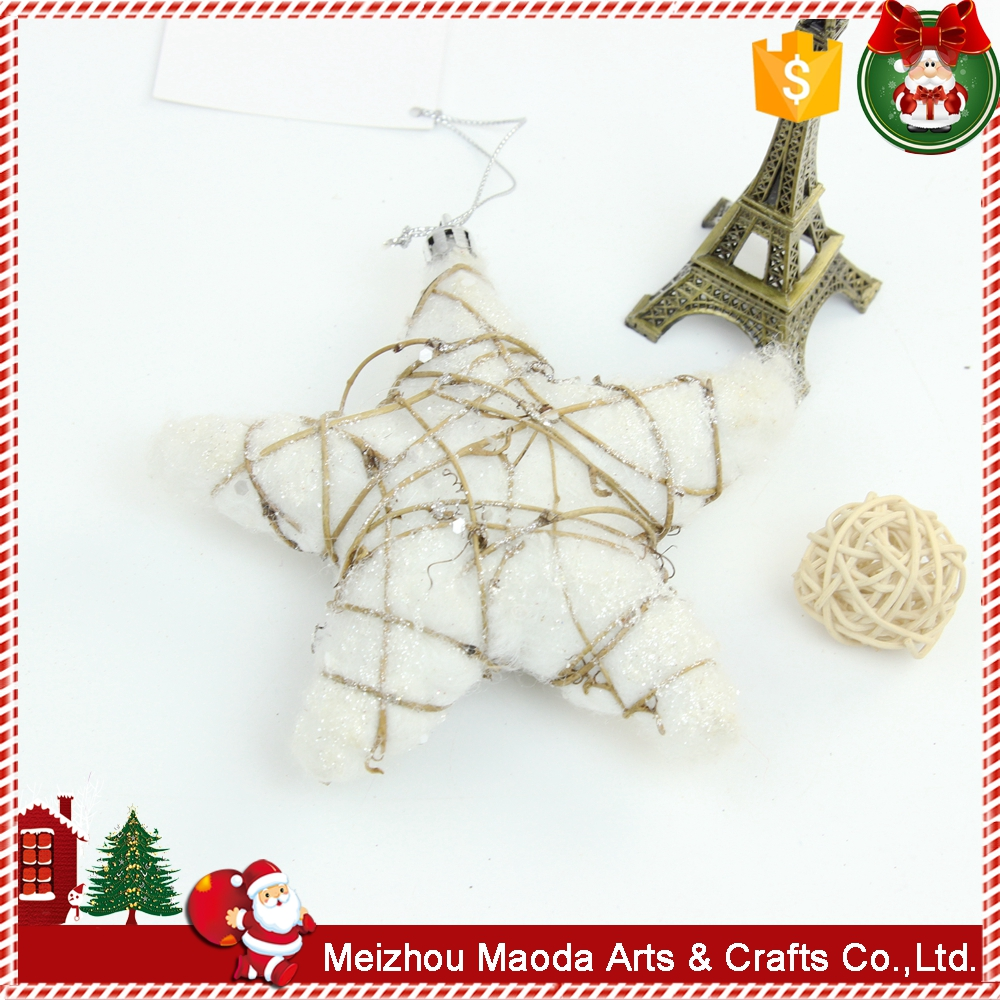 OEM western style christmas wood ornament from guangdong china