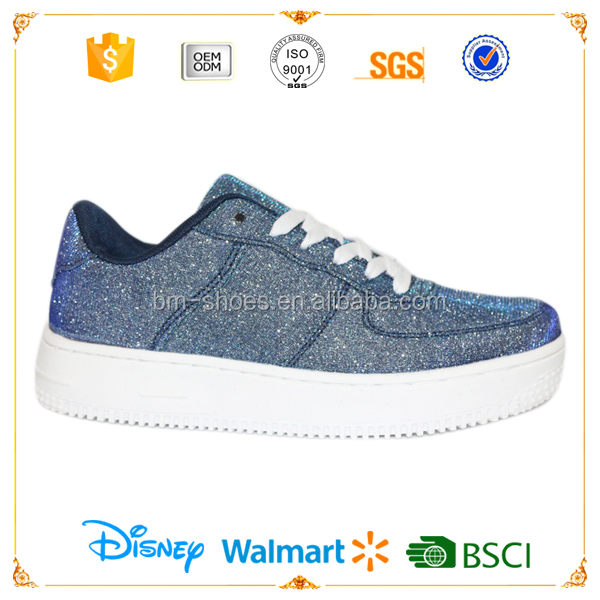 Glitter elegant fancy women fashion footwears