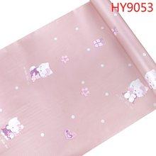 Papel де parede hello kittey обои рулон Размер дизайн розовый цвет для спальни девушка Декор для комнаты мальчика водонепроницаемый стикер на стену(Китай)