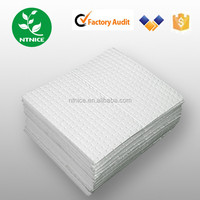 100% polypropylene Oil absorbent pad sheets mat