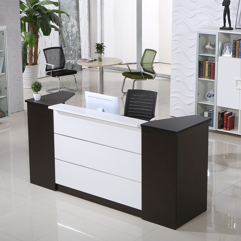 customized wooden vintage reception desk office furniture