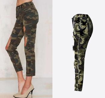 2018 sneakers top quality wholesale B11848a Women's Camouflage Hole Pants Sexy Lady Ninth Jeans - Buy Ladies  Jeans,Ladies Fancy Camouflage Jeans,Ladies Stylish Ninth Jeans Product on  ...