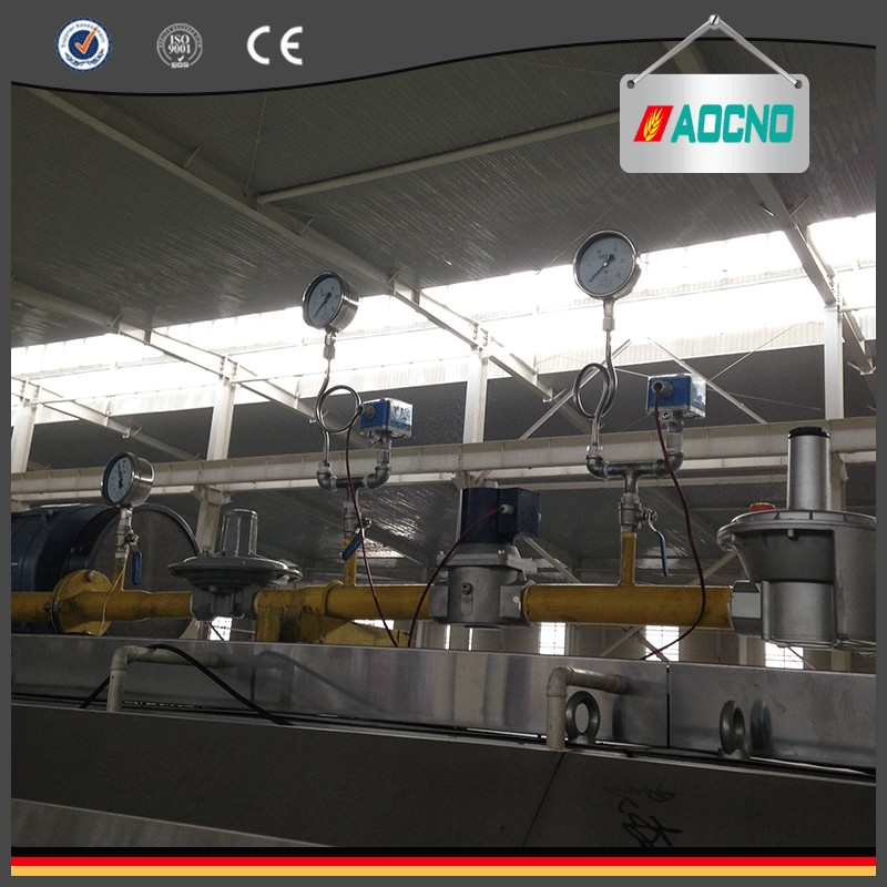 High frequency ir baking machine or tunel oven