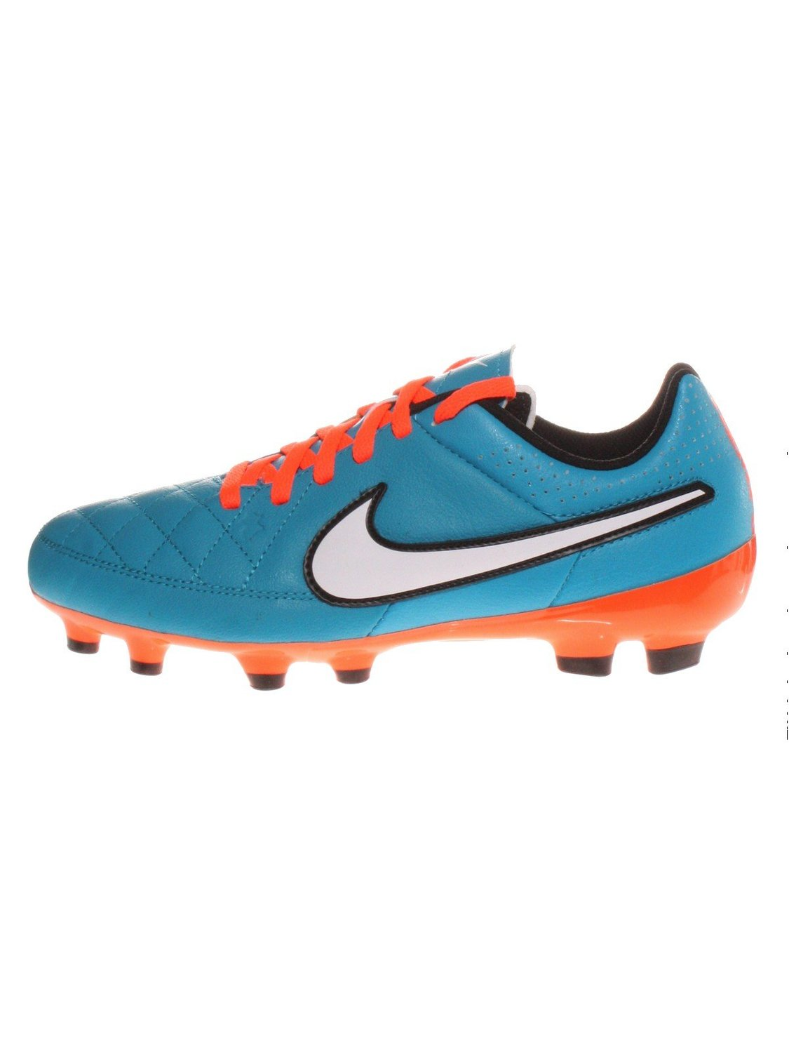 newest f79d9 eb20d Get Quotations · Nike Kids Jr Tiempo Genio Leather FG Soccer Cleat