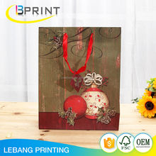 manufacturer wholesale kids birthday party small paper gift bags with ribbon