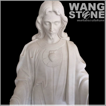 Life Size Marble Jesus Christ Garden Statue For Sale