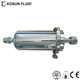 Stainless steel industry precision filtration equipment for water treatment plants, single bag style filter housing