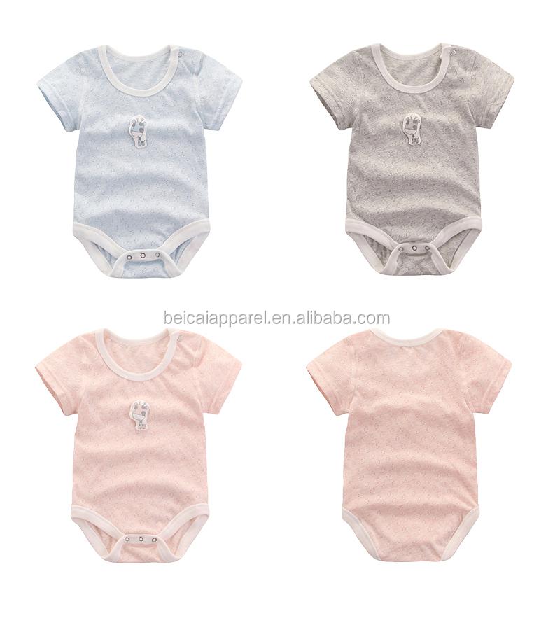 8d6eb4e41387 100 Cotton Soft Printed Baby Bodysuit
