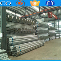 Alibaba website Galvanized Surface Treatment and Round Section Shape oil Drill Pipe/welded steel tubes