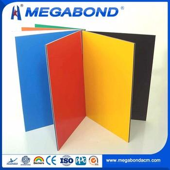 Megabond 2mm 3mm 4mm 5mm 6mm Acm Alucobond Colors,Alucobond Acm Material  Sheet - Buy Acm Alucobond Colors,Alucobond Acm Material Sheet Product on