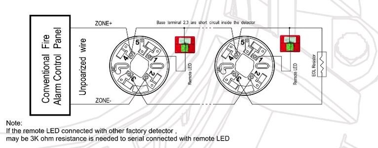 conventional 2 wire fire effect led light remote led hs-md111