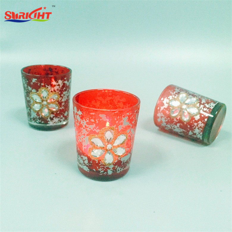 Cheap Classical Perfume Gfit Set Holder Christmas Candle