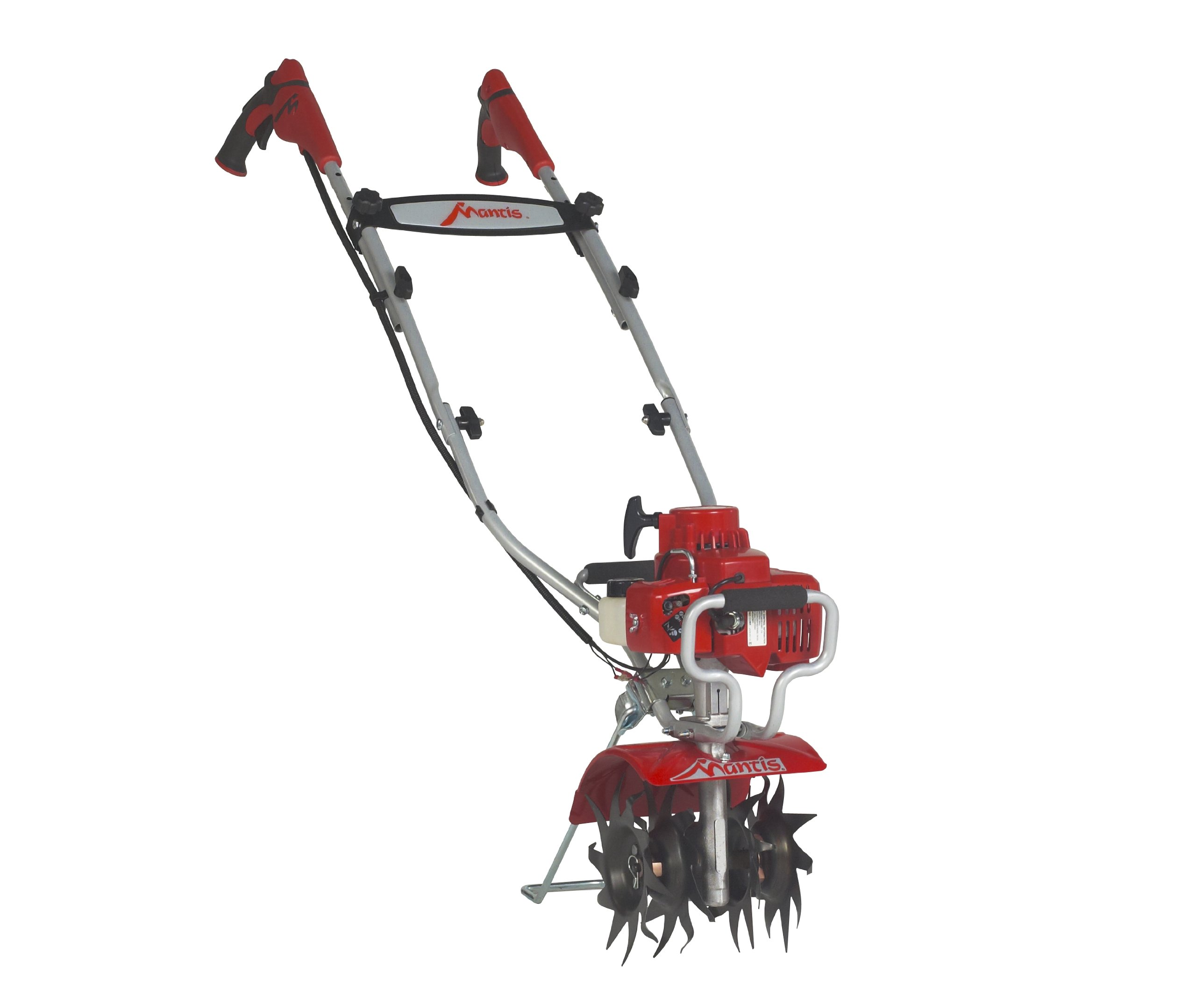 Get Quotations · Mantis 7234-12-02 Deluxe 2-Cycle Tiller with Kickstand
