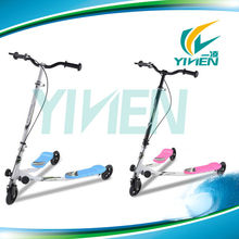 125 mm kids scooter with three wheels for balance