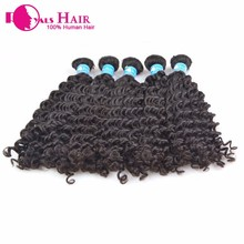Factory Discount Human Hair Natural Hairline Hair Piece candy curly malaysian hair