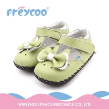 Lowest price not important lace green baby girl walking shoes