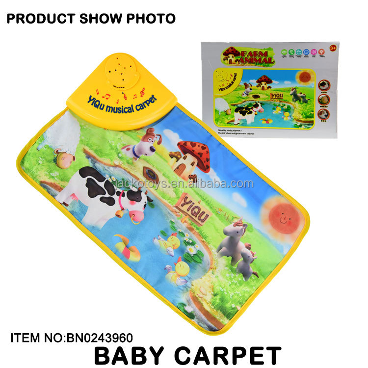Kids Musical Playmat Farm Animal Musical Mat For Sale