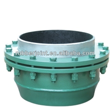 Screw connection pipe no thrust rotary axial compensator