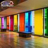 Uvioresistant 99% Colored Decorative Window Building Glass Tinted Vinyl Film