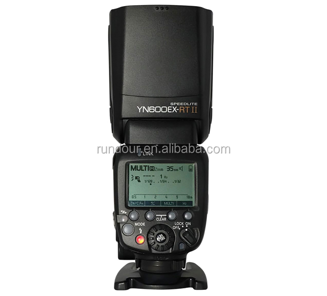 YONGNUO YN600EX-RT II YN600EX RT For Canon 6d 60d 550d 650d DSLR Cameras HSS TTL Flash