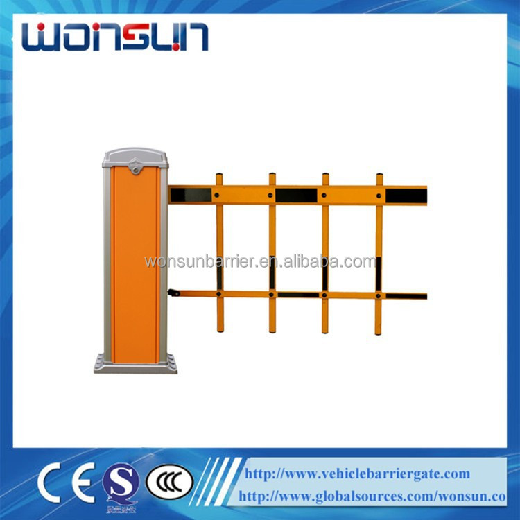 2/3 Fence Arm Electric Remote Control Boom Barrier / Automatic Road Barrier Gate