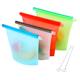 (Wholesale Free Shipping) Vacuum Silicone Food Storage Bag 4 Pack Set