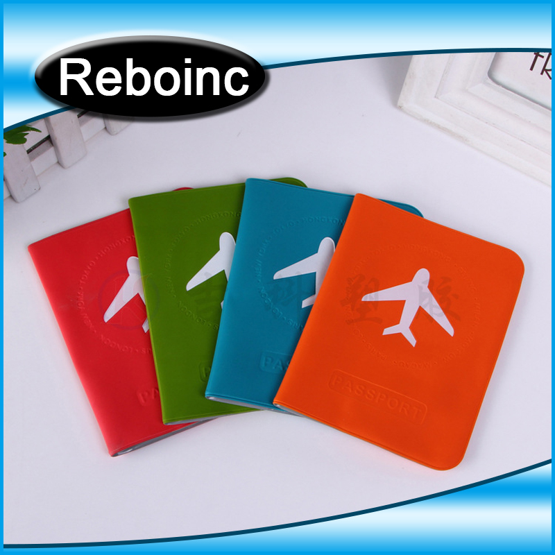 PVC Travel Ticket Wallet,Portable Plastic Passport Wallet