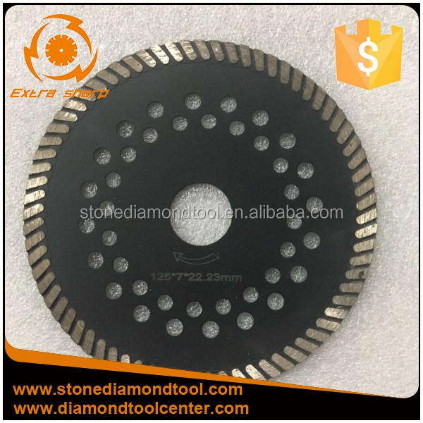5 inch 125mm Diamond Turbo Small Cutting Steel Granite Saw Blade