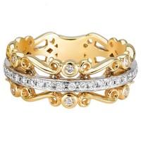 22k gold engagement ring yellow gold diamond ring