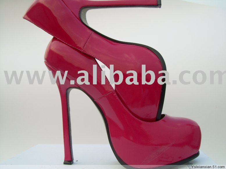 stiletto Patent shoes round toe leather nTwXRZq6