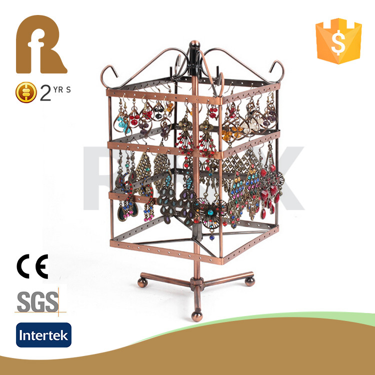 Wholesale custom necklace holder OEM Design Jewelry Earring Rack Display