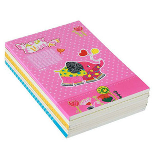 eco recycled paper school notebook