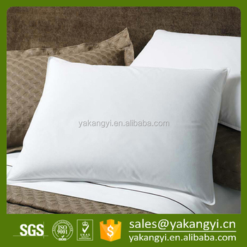 Bedroom White Goose Down Pillow For Hotel