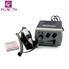 KADS 30000 RPM Preto broca prego Equipamento Da Arte Do Prego Ferramentas Manicure Pedicure Acrílicos Cinza Elétrica Prego Broca Pen Máquina Set