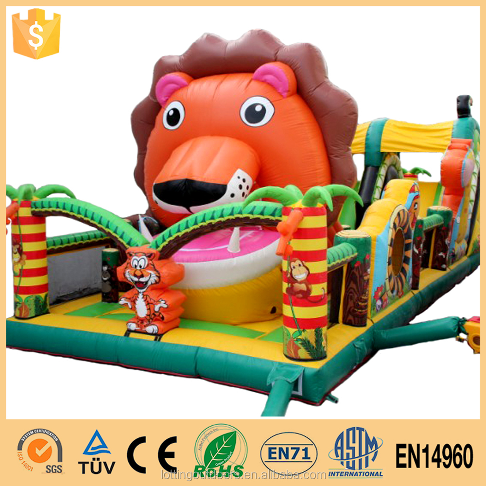 Environmental Protection Inflatable Animal Fun City/Inflatable Forest Challenge Fun City
